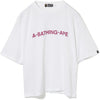 A BATHING APE WIDE TEE LADIES