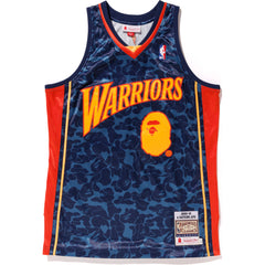 WARRIORS AUTHENTIC ABC BASKETBALL JERSEY TANKTOP MENS