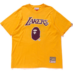 LAKERS BAPE TEE M