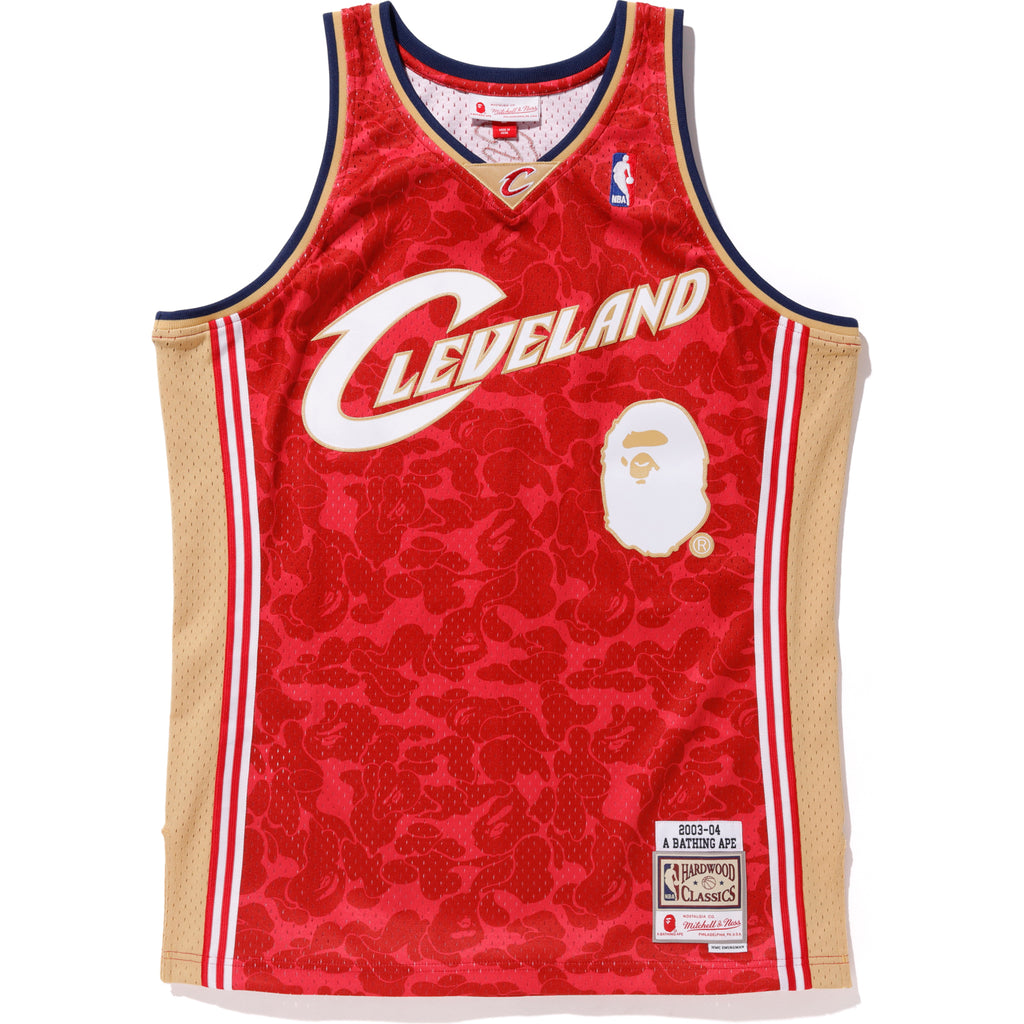 CAVS ABC BASKETBALL JERSEY TANKTOP M