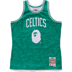 CELTICS ABC BASKETBALL JERSEY TANKTOP M