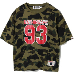 1ST CAMO WIDE TEE LADIES