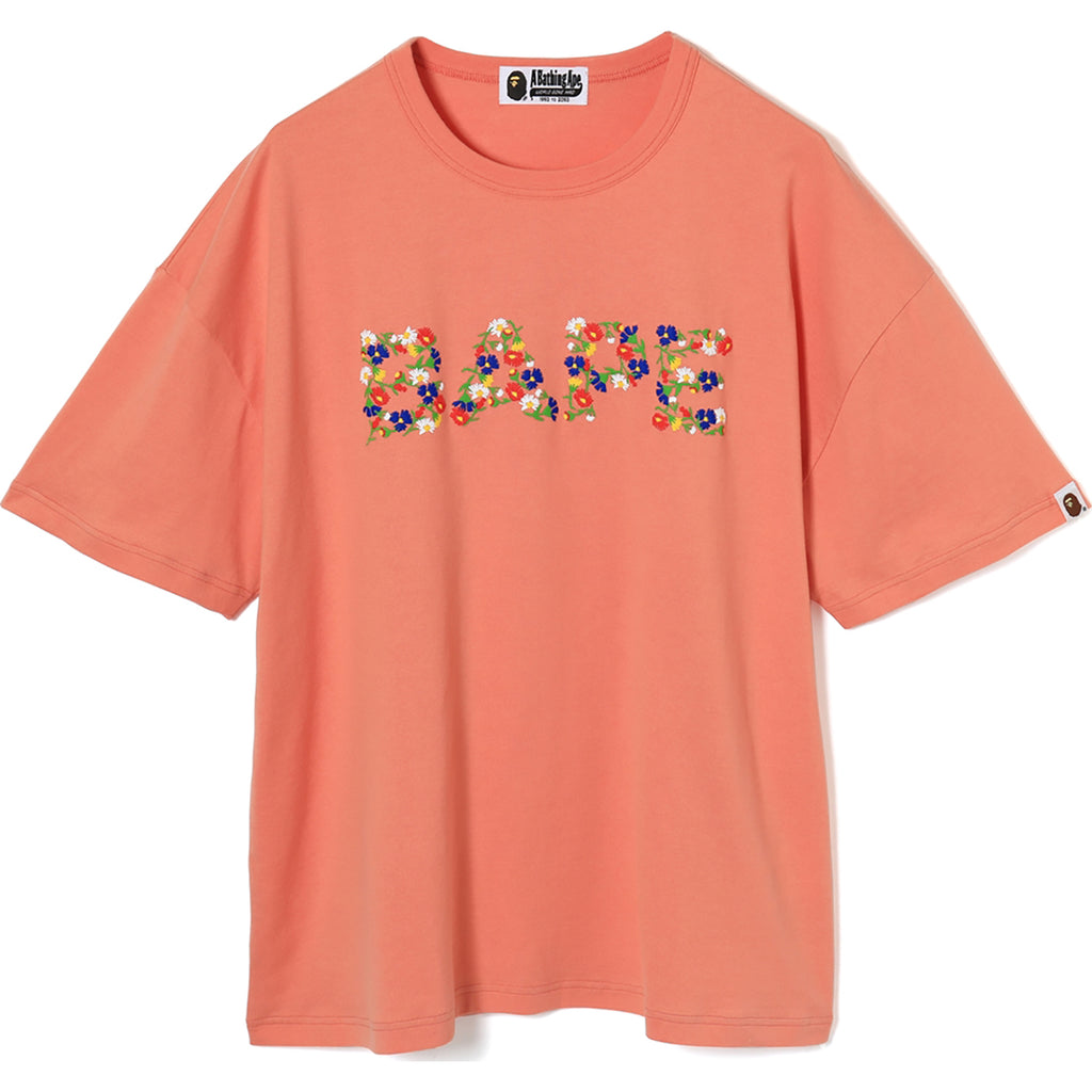 FLOWER BAPE OVERSIZED TEE LADIES
