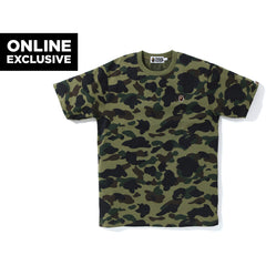 1ST CAMO ONE POINT TEE M BAPEC MENS
