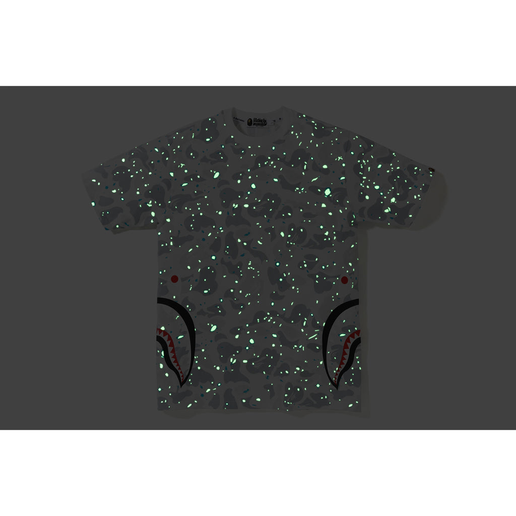 SPACE CAMO SIDE SHARK TEE MENS