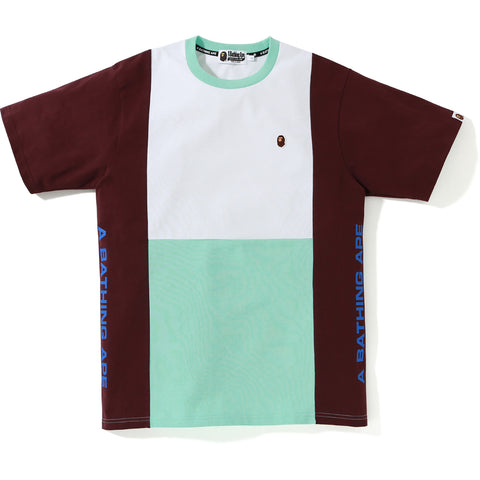 COLOR BLOCK TEE MENS
