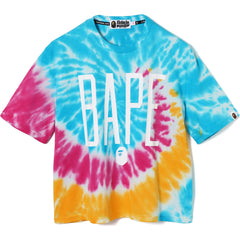 TIE DYE WIDE TEE LADIES