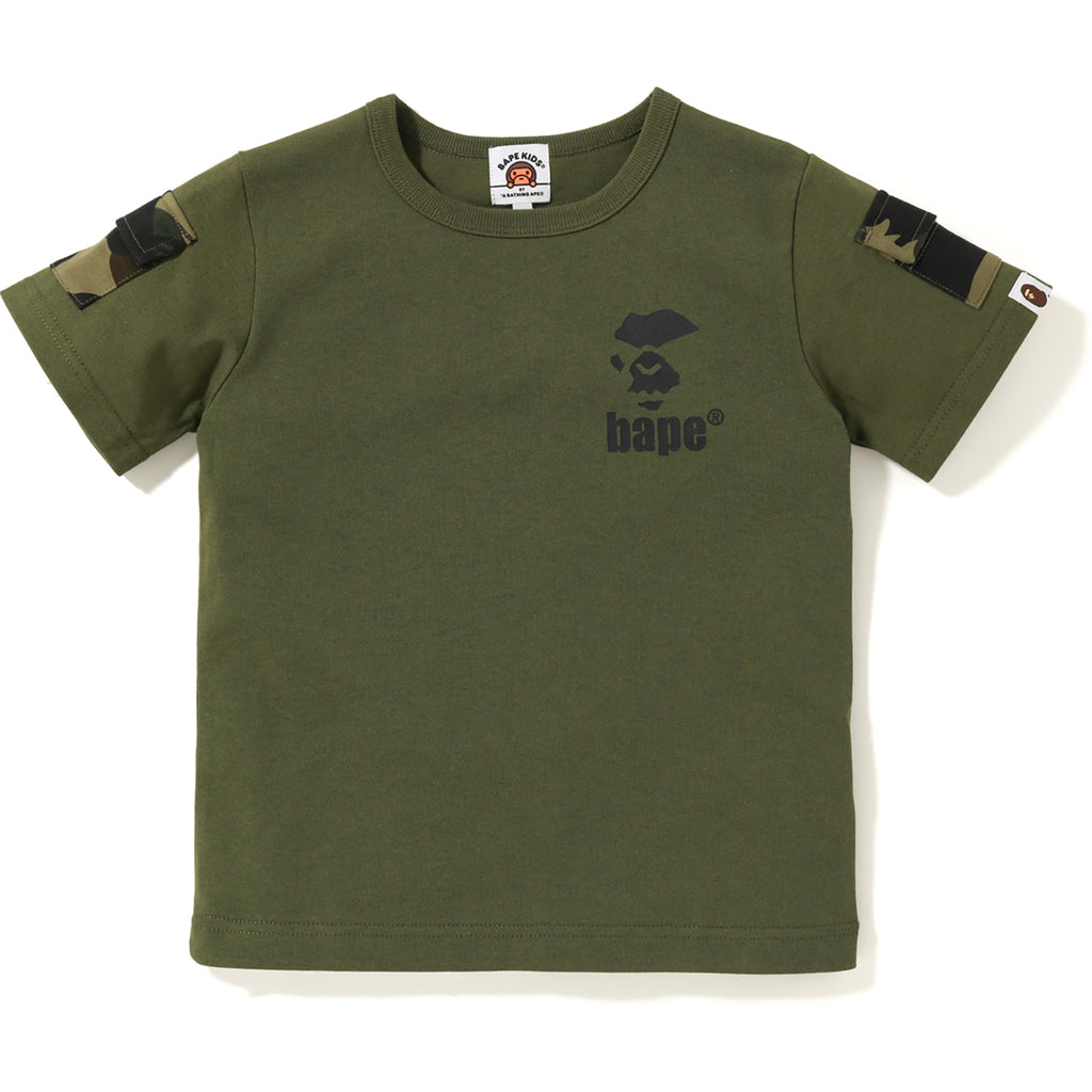 BAPE 1ST CAMO SLEEVE POCKET TEE KIDS