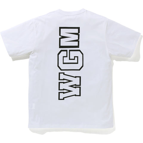 BIG WGM SHARK EMBLEM WIDE TEE MENS