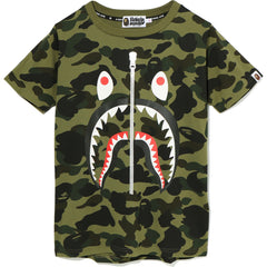 1ST CAMO SHARK TEE LADIES