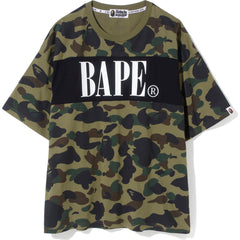 1ST CAMO PANEL OVERSIZED TEE LADIES