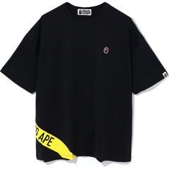 A BATHING APE OVERSIZED TEE LADIES