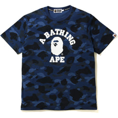 COLOR CAMO COLLEGE TEE MENS