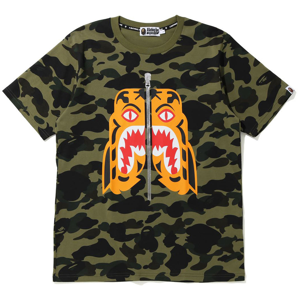 1ST CAMO TIGER TEE MENS