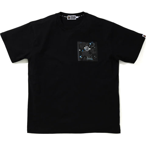 RELAXED SPACE CAMO POCKET TEE MENS
