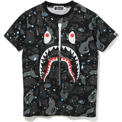 SPACE CAMO SHARK TEE LADIES