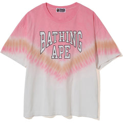 BAPE TIE DYE OVERSIZED TEE LADIES