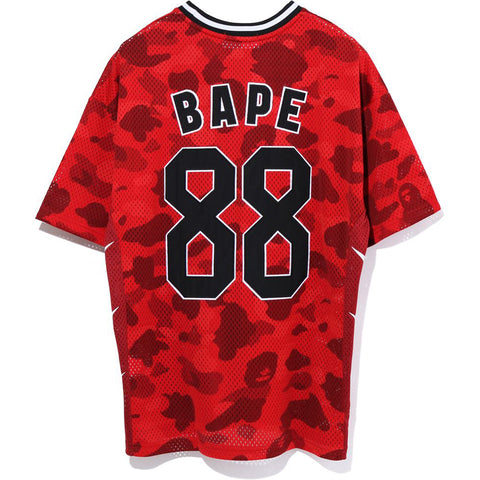 COLOR CAMO BASKETBALL OVERSIZED TEE LADIES