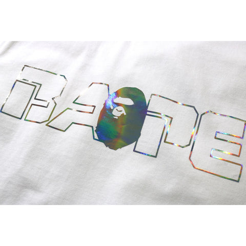 SPACE CAMO BAPE AURORA LOGO TEE JR KIDS