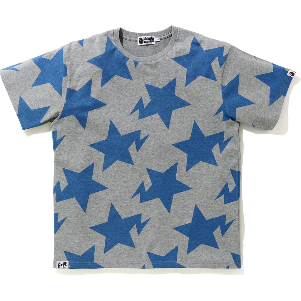 RELAXED STA PATTERN TEE MENS