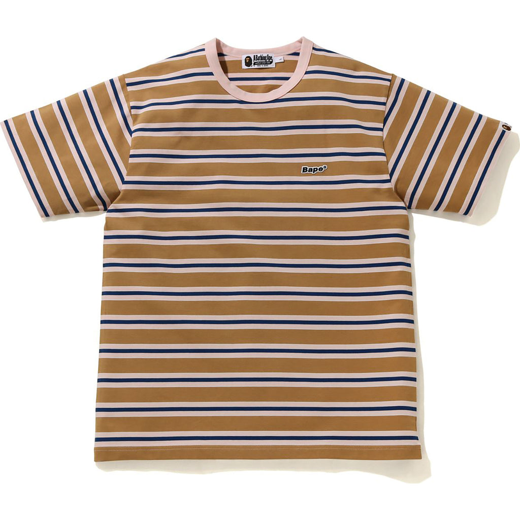 BAPE PATCHED HOOP TEE MENS