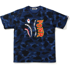 COLOR CAMO SHARK WIDE TEE MENS
