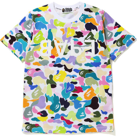 MULTI CAMO BAPE TEE LADIES