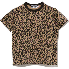 LEOPARD MINI TEE LADIES