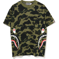 1ST CAMO SIDE SHARK OVERSIZED TEE LADIES