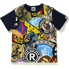 PATCHED BIG PRINT TEE KIDS