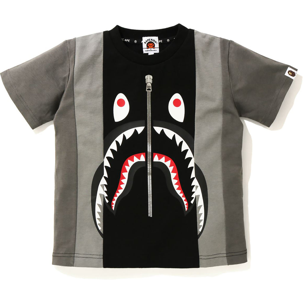 SHARK COLOR BLOCK TEE KIDS