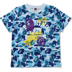 ABC CAMO MULTI PRINT TEE JR KIDS