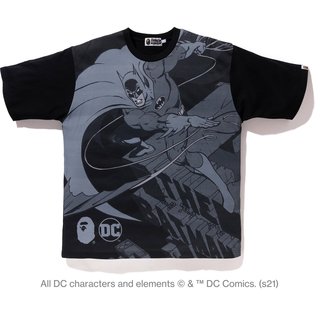 BAPE X DC BATMAN RELAXED TEE MENS