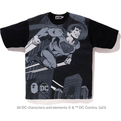 BAPE X DC SUPERMAN RELAXED TEE MENS