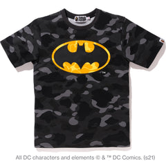 BAPE X DC BATMAN COLOR CAMO TEE LADIES