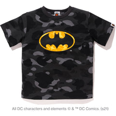 BAPE X DC BATMAN COLOR CAMO TEE KIDS