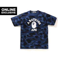 COLOR CAMO COLLEGE TEE M BAPEC MENS