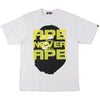 APE HEAD MULTI PRINT TEE MENS
