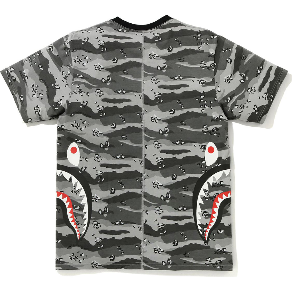 DESERT CAMO SIDE SHARK TEE MENS