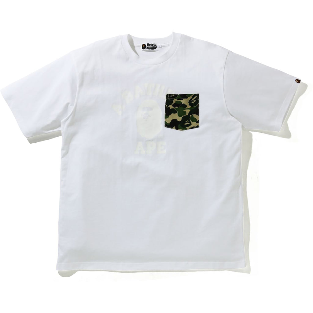 ABC CAMO COLLEGE RELAXED POCKET TEE MENS