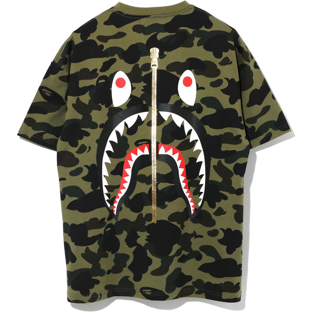 1ST CAMO SHARK OVERSIZED TEE LADIES