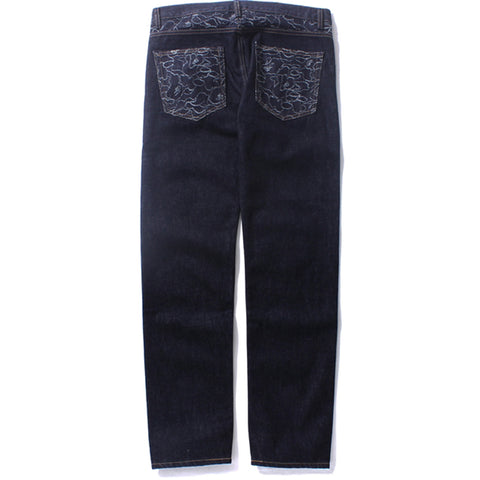 ABC SLIM DENIM PANTS