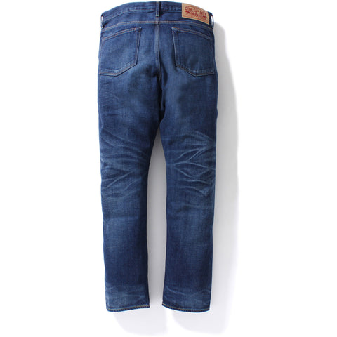 1999 TYPE-02 DAMAGED DENIM PANTS MENS