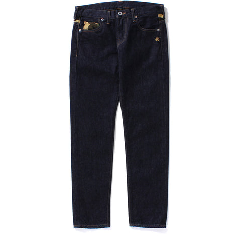 BAPE BOYFRIEND DENIM PANTS LADIES