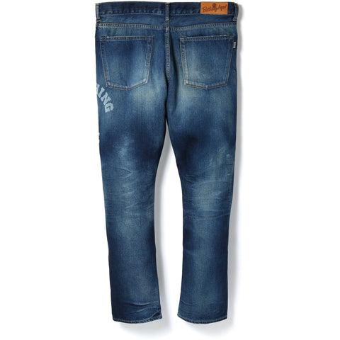 1999 TYPE-05 DAMAGE DENIM PANTS MENS