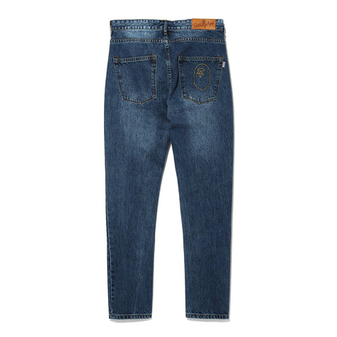 APE HEAD DENIM PANTS LADIES