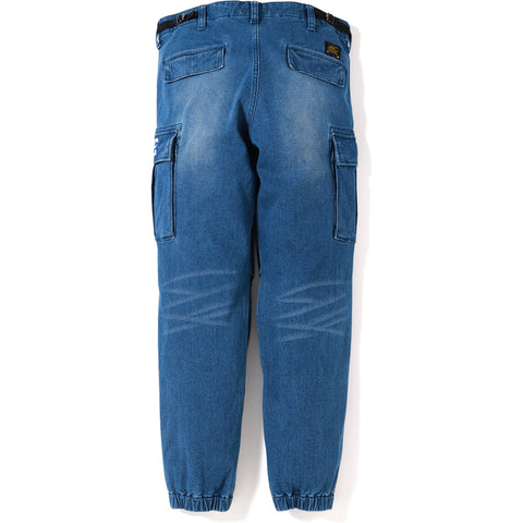 6POCKET JOGGER DENIM PANTS MENS