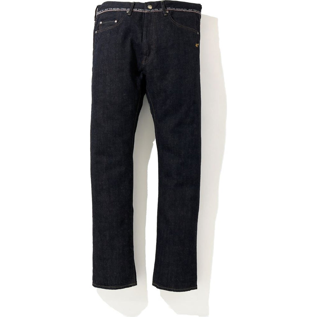 2008 TYPE-05 LOGO SELVAGE DENIM PANTS MENS