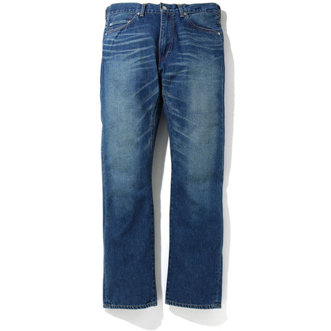 2008 TYPE-05 CHAMPION DAMAGED DENIM PANT MENS