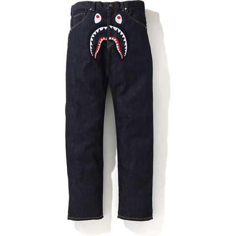 SHARK EMBRIODERY DENIM PANTS JR KIDS